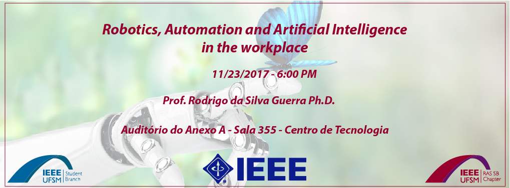 Lecture – Robotics, Automation and Artificial Intelligence in the workplace