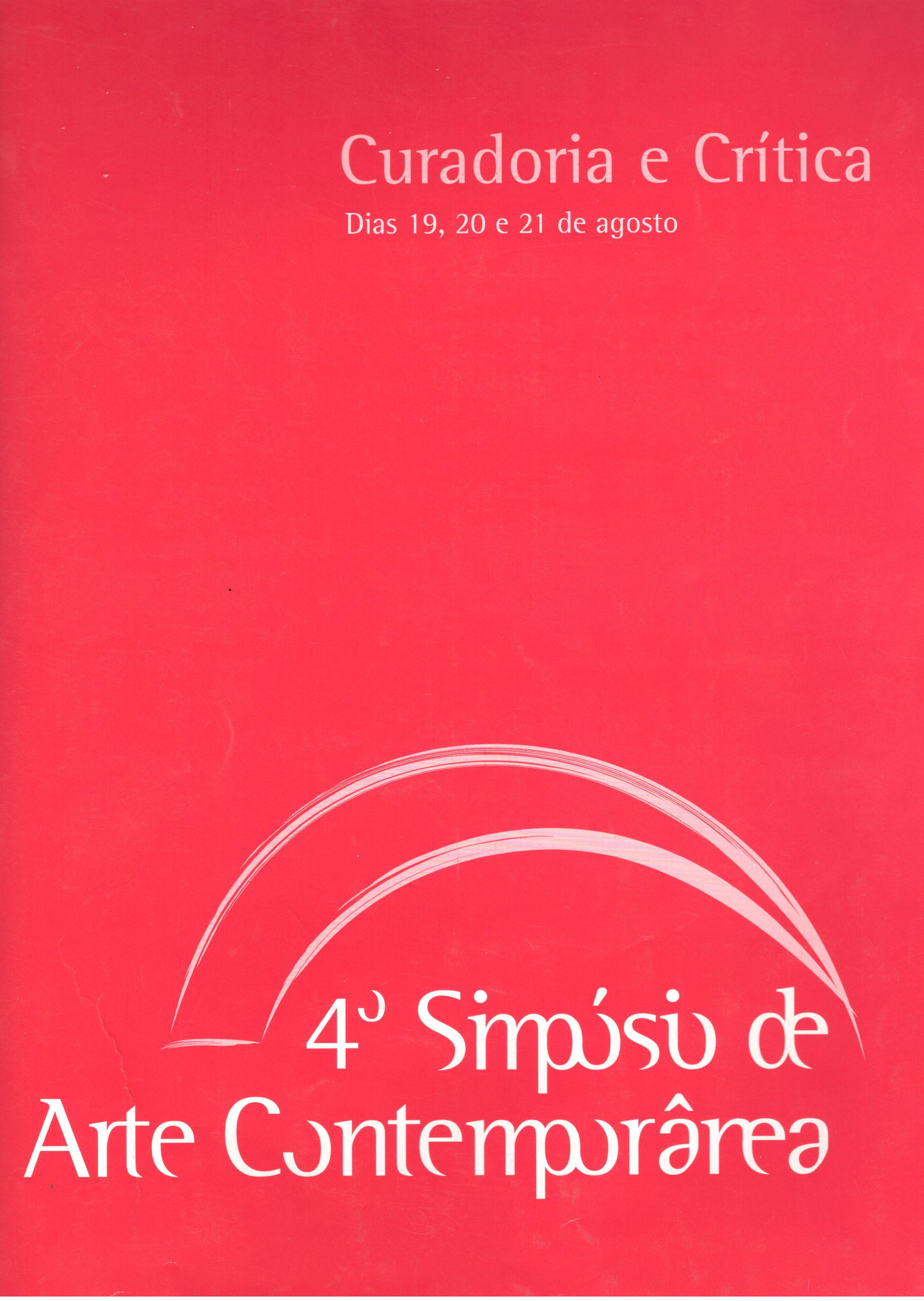 4 simposio de arte contemporanea 2009 1 flayer