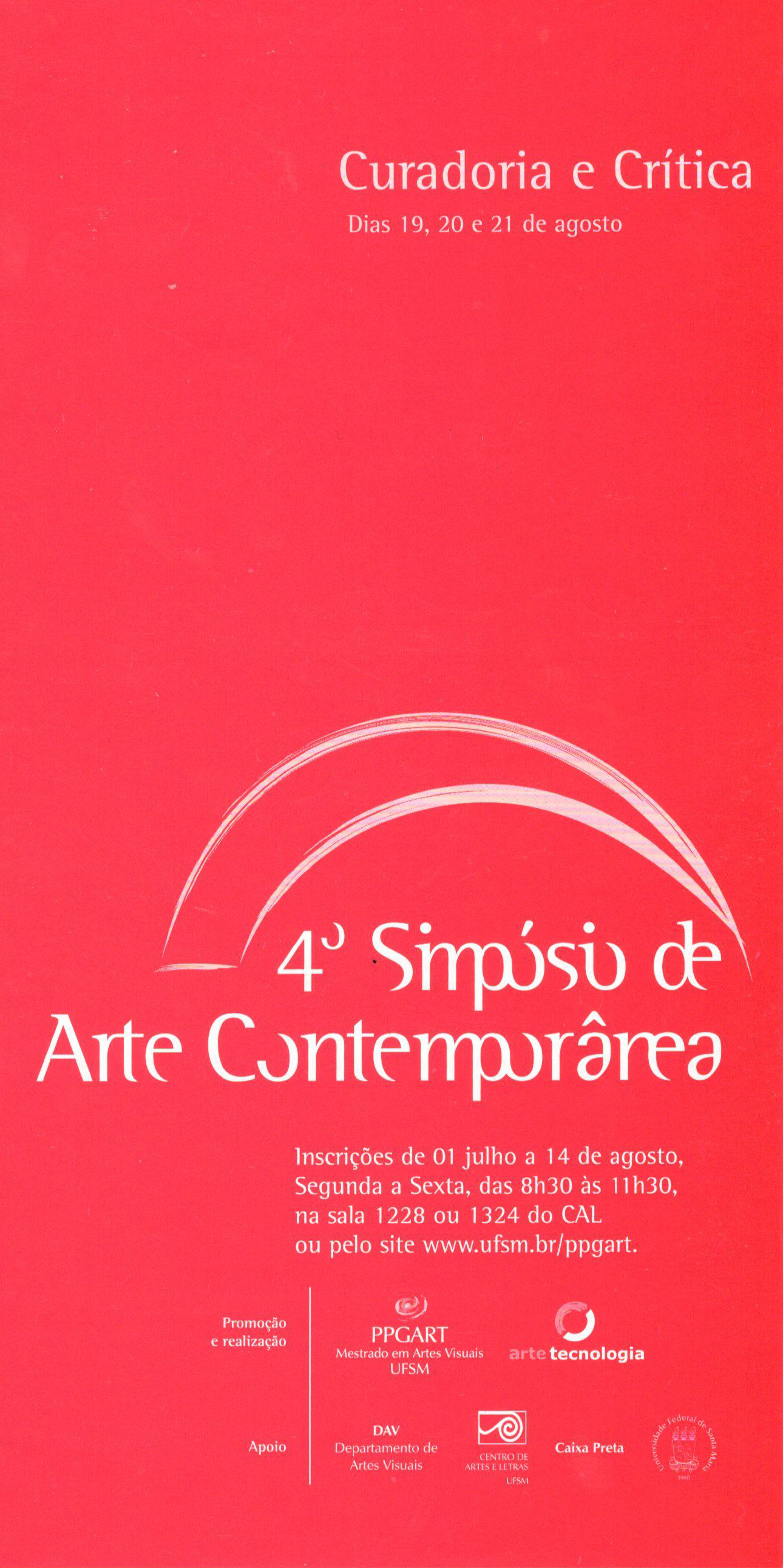 4 simposio de arte contemporanea 2009 2